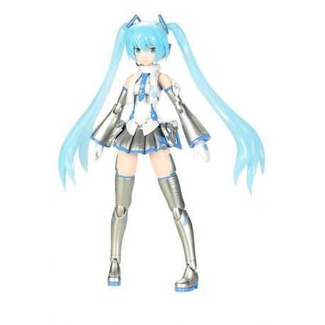 Hatsune Miku Frame Arms Girl figurine Plastic Model Kit Snow Miku Kotobukiya