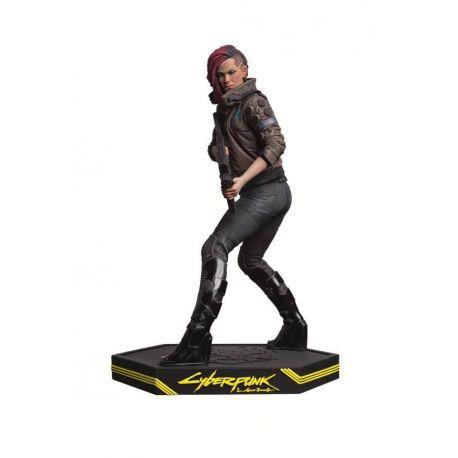 Cyberpunk 2077 statuette Female V Dark Horse
