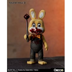 Silent Hill 3 figurine mini Robbie the Rabbit Yellow Version Gecco