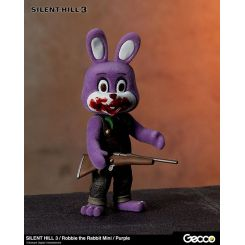 Silent Hill 3 figurine mini Robbie the Rabbit Purple Version Gecco