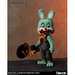 Silent Hill 3 figurine mini Robbie the Rabbit Green Version Gecco