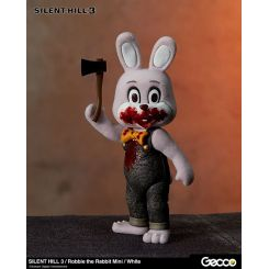 Silent Hill 3 figurine mini Robbie the Rabbit White Version Gecco