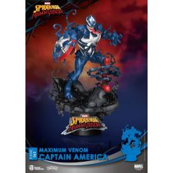 Marvel Comics diorama D-Stage Maximum Venom Captain America Beast Kingdom Toys