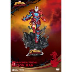 Marvel Comics diorama D-Stage Maximum Venom Iron Man Beast Kingdom Toys