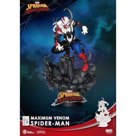 Marvel Comics diorama D-Stage Maximum Venom Spider-Man Beast Kingdom Toys