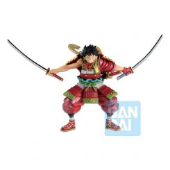 One Piece statuette Ichibansho Armor Warrior Luffytaro Bandai