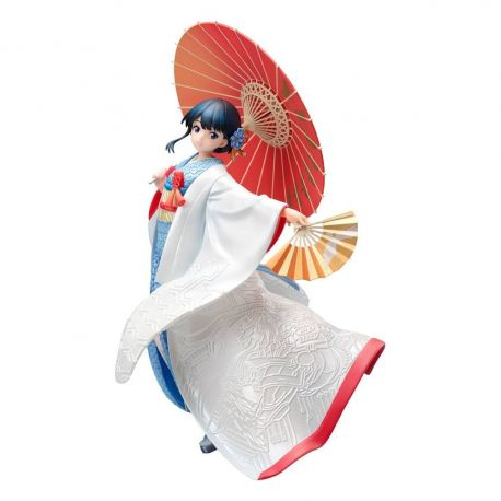 SSSS.Gridman statuette 1/7 Rikka Takarada - Shiromuku Furyu