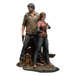 The Last of Us statuettes 1/9 Joel & Ellie Mamegyorai