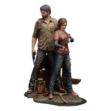 The Last of Us statuettes 1/9 Joel & Ellie Mamegyorai