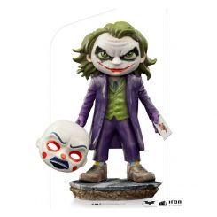 The Dark Knight figurine Mini Co. The Joker Iron Studios