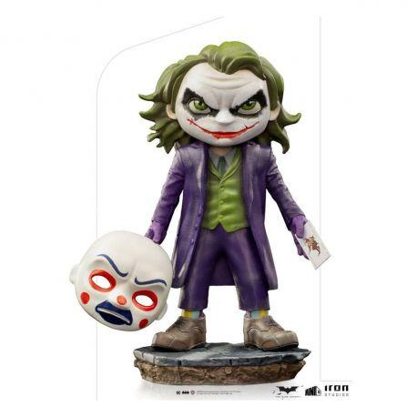 The Dark Knight figurine Mini Co. The Joker Iron Studios