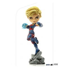 Avengers Endgame figurine Mini Co. Captain Marvel Iron Studios