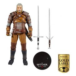 The Witcher figurine Geralt of Rivia Gold Label Series McFarlane Toys