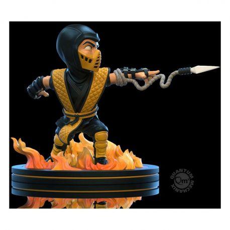 Mortal Kombat diorama Q-Fig Scorpion Quantum Mechanix