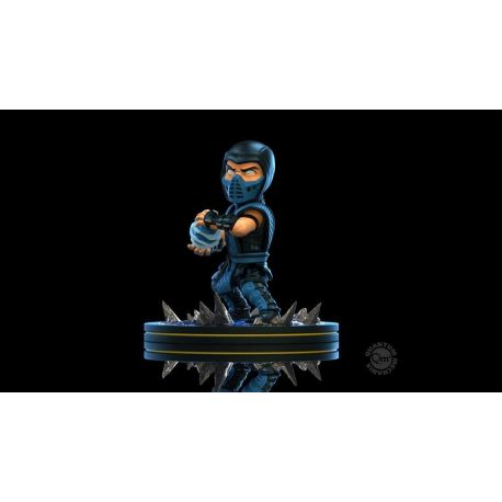 Mortal Kombat diorama Q-Fig Sub-Zero Quantum Mechanix