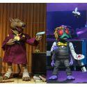 Les Tortues ninja pack 2 figurines Splinter & Baxter Neca
