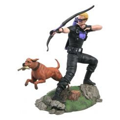 Marvel Comic Gallery statuette Hawkeye with Pizza Dog Diamond Select