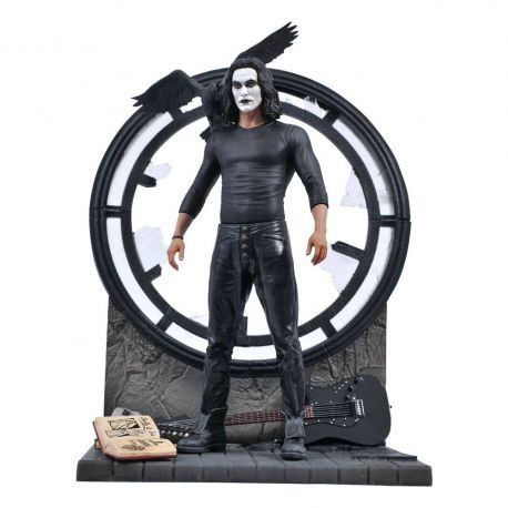 The Crow Movie Gallery statuette The Crow Diamond Select