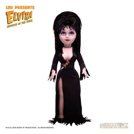 Elvira maîtresse des ténèbres Living Dead Dolls poupée Elvira Mezco Toys
