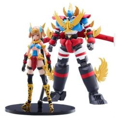 New Gattai Series figurines Plastic Model Kit Robot Atlanger & Atori Hotaka Aoshima