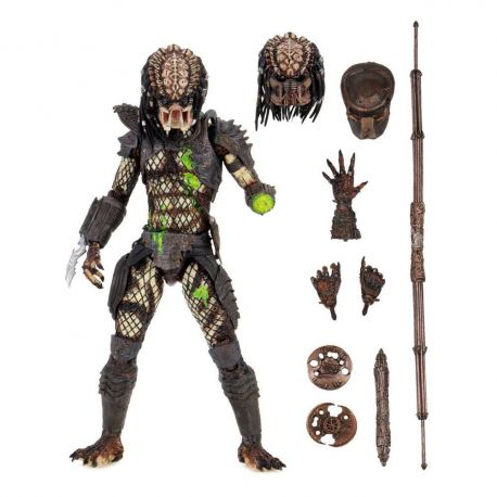 Predator 2 figurine Ultimate Battle-Damaged City Hunter Neca