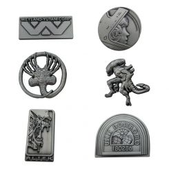 Alien pack 6 pin's Limited Edition FaNaTtik