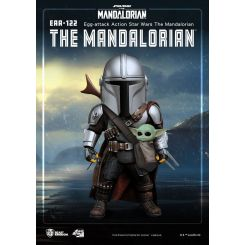 Star Wars The Mandalorian figurine Egg Attack Action The Mandalorian Beast Kingdom Toys