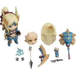 Monster Hunter World Iceborne figurine Nendoroid Hunter Female Zinogre Alpha Armor Ver. DX Capcom