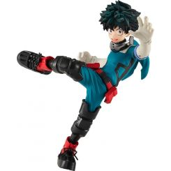 My Hero Academia statuette Pop Up Parade Izuku Midoriya Costume y Ver. Good Smile Company