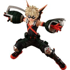 My Hero Academia statuette Pop Up Parade Katsuki Bakugo Hero Costume Ver. Good Smile Company