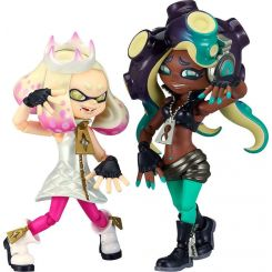 Splatoon 2 figurines Figma Off the Hook Pearl & Marina Good Smile Company