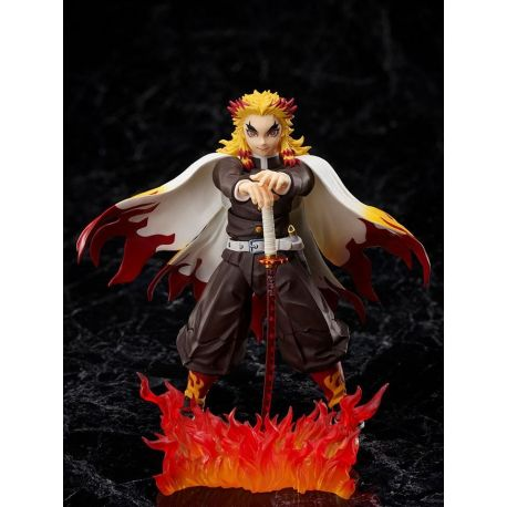 Demon Slayer: Kimetsu no Yaiba The Movie: Mugen Train figurine 1/12 Kyojuro Rengoku Aniplex