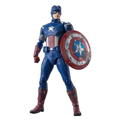 Avengers figurine S.H. Figuarts Captain America (Avengers Assemble Edition) Bandai Tamashii Nations