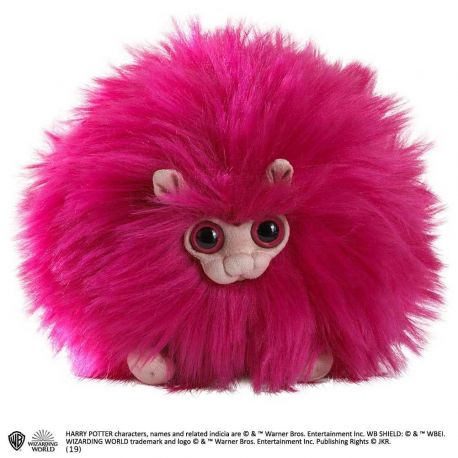Harry Potter peluche Pygmy Puff Pink Noble Collection