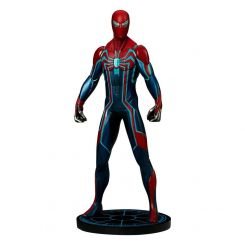 Marvel's Spider-Man statuette 1/10 Spider-Man Velocity Suit Pop Culture Shock