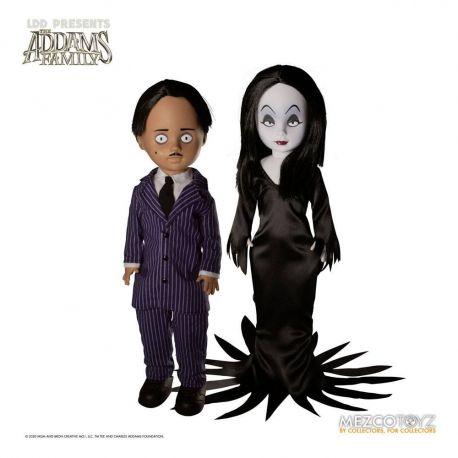 Shining Living Dead Dolls pack poupées Gomez & Morticia Mezco Toys