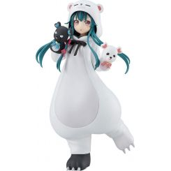 Kuma Kuma Kuma Bear statuette Pop Up Parade Yuna White Bear Ver. Good Smile Company