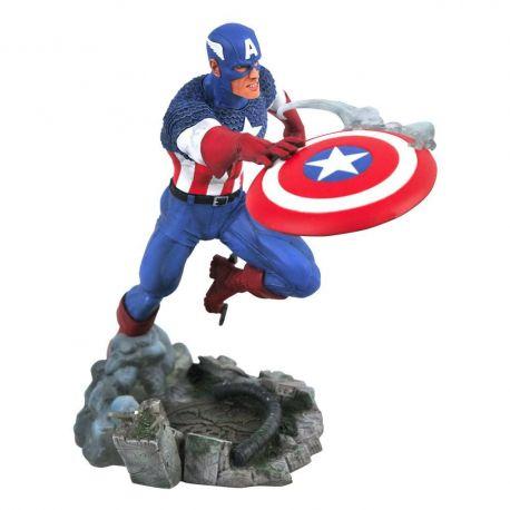 Marvel Comic Gallery Vs. statuette Captain America Diamond Select