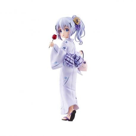 Is the Order a Rabbit statuette 1/7 Chino (Summer Festival) Plum