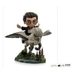 Harry Potter figurine Mini Co. Illusion Harry Potter & Buckbeak Iron Studios
