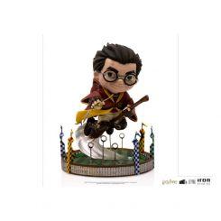 Harry Potter figurine Mini Co. Illusion Harry Potter at the Quiddich Match Iron Studios