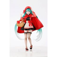 Vocaloid statuette Hatsune Miku Little Red Riding Hood Ver. Taito Prize