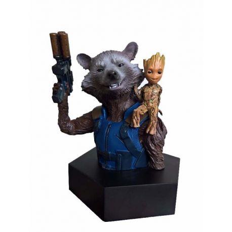 Les Gardiens de la Galaxie Vol. 2 buste 1/6 Rocket Raccoon & Groot SeDi