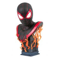 Marvel Gamerverse Legends in 3D buste 1/2 Miles Morales Diamond Select