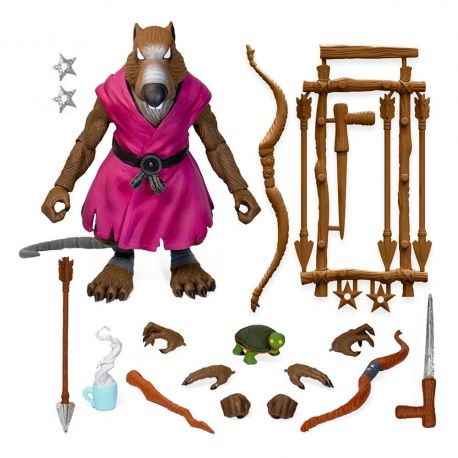 Les Tortues ninja figurine Ultimates Splinter Version 2 Super7