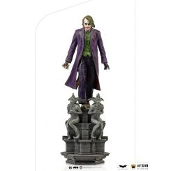 The Dark Knight statuette 1/10 Deluxe Art Scale The Joker Iron Studios