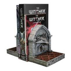 The Witcher 3: Wild Hunt serre-livres The Wolf Dark Horse