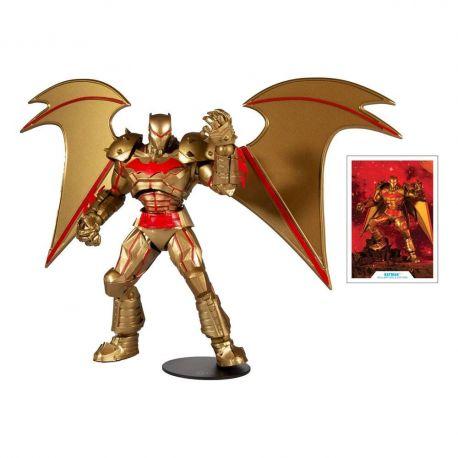 DC Multiverse figurine Batman Hellbat Suit (Gold Edition) McFarlane Toys