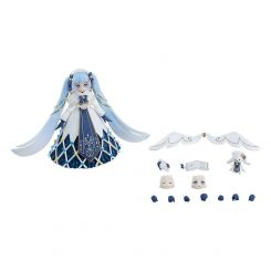 Character Vocal Series 01: Hatsune Miku figurine Figma Snow Miku: Glowing Snow Ver. Max Factory