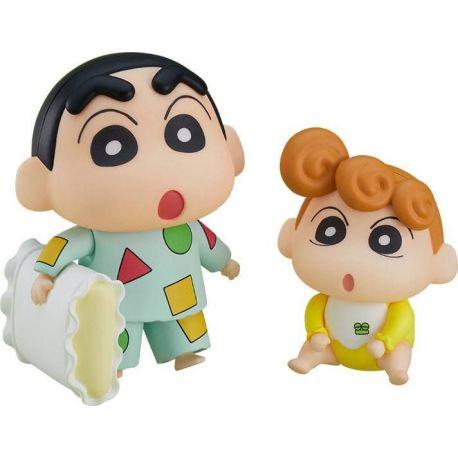 Crayon Shin-Chan figurine Nendoroid Shinnosuke Nohara Pajama Ver. & Himawari Good Smile Company